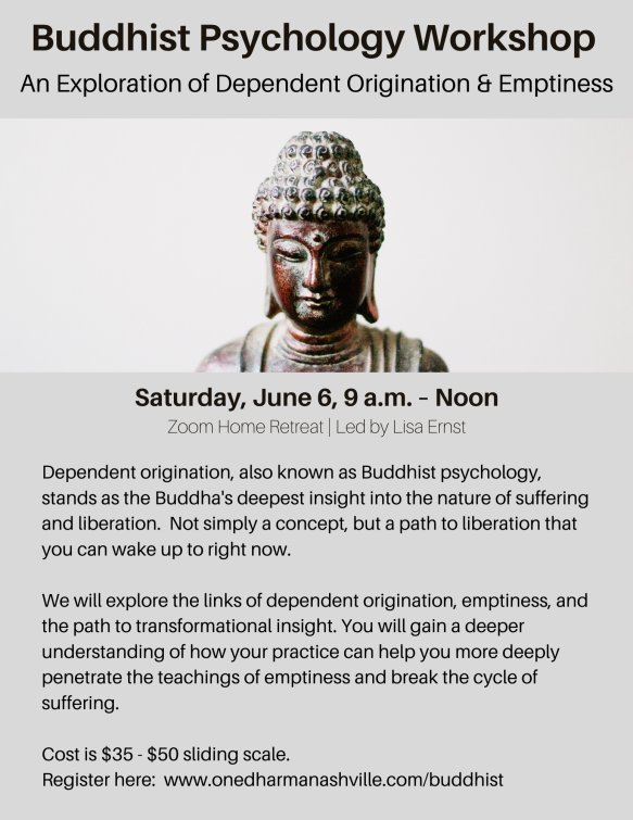 Buddhist Psychology Workshop-1