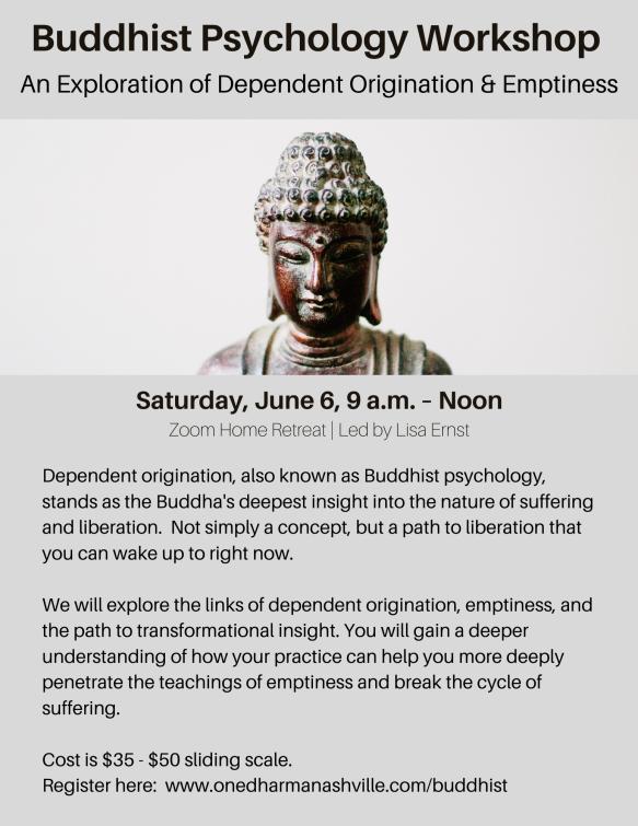 Buddhist Psychology Workshop-1
